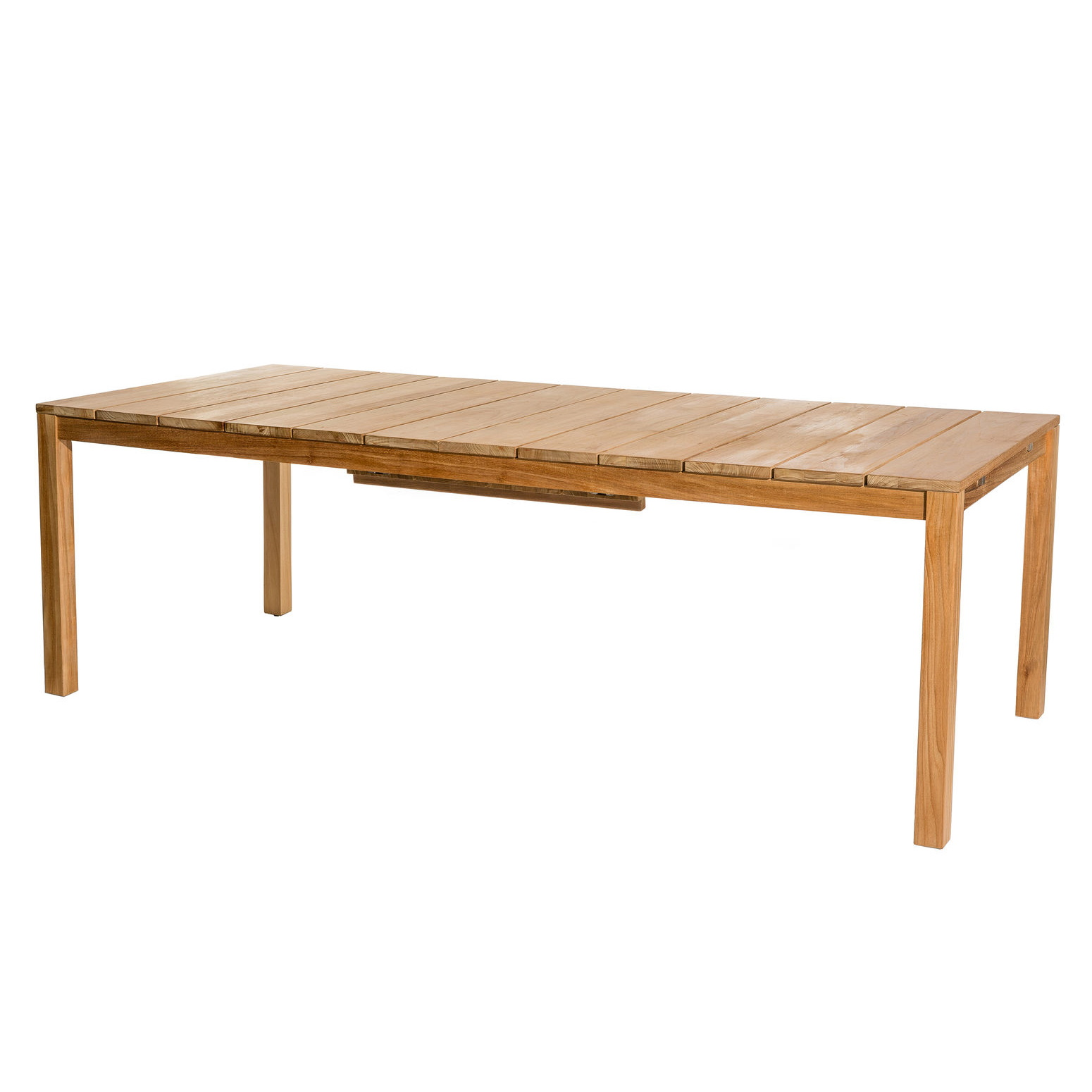Oxnö matbord 220 - 300 cm teak, Skargaarden