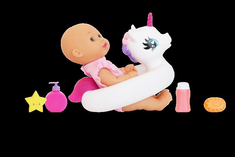 Happy Friend - Sara Doll 30 cm - Bath Time Playset (504209)