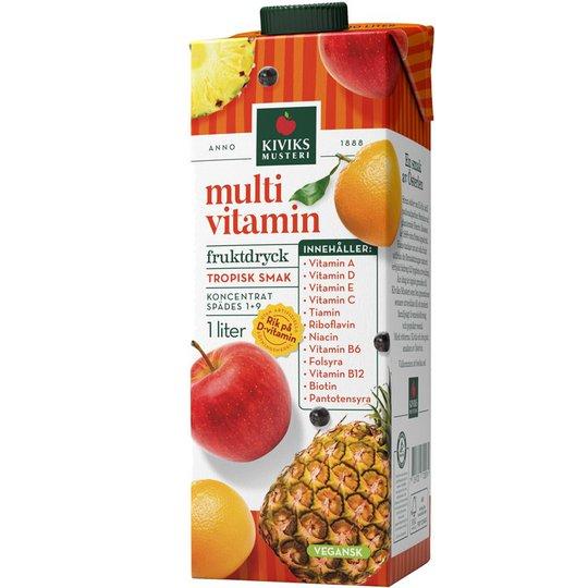 Multivitamin Koncentrat - 67% rabatt