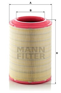 Ilmansuodatin MANN-FILTER C 37 2070/2