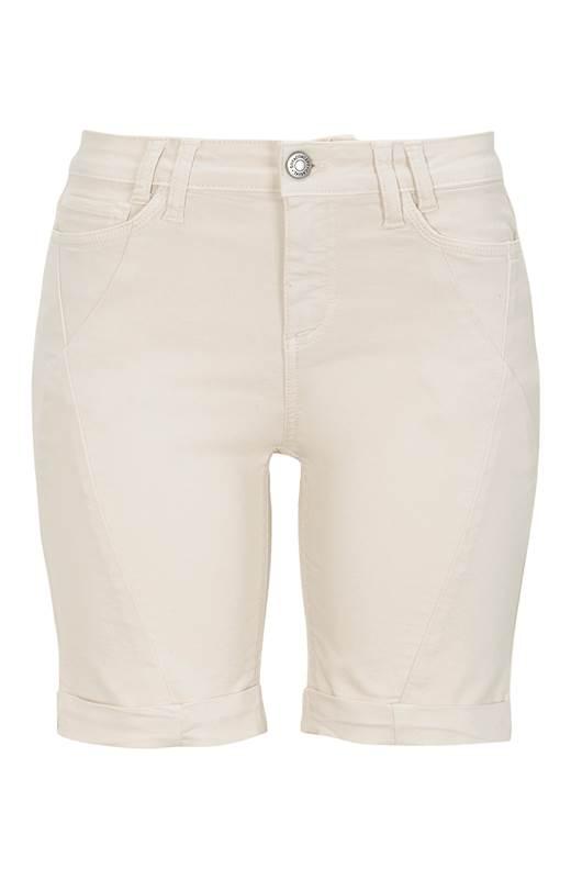 Soyaconcept Shorts med stretch Paulana Ljusbeige