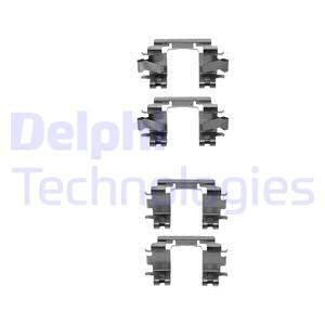 Tarvikesarja, jarrupala DELPHI LX0298