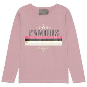 Creamie Famous Print T-shirt Deauville Mauve 146 cm (10-11 år)