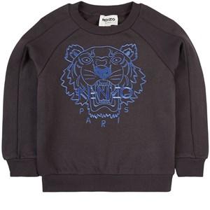 Kenzo Tiger Sweatshirt Grå 3 år