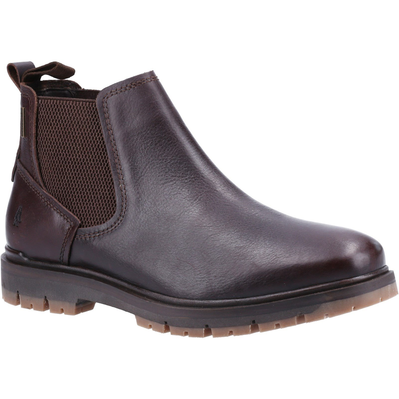 Hush Puppies Men's Paxton Chelsea Boot Various Colours 32882 - Brown 8