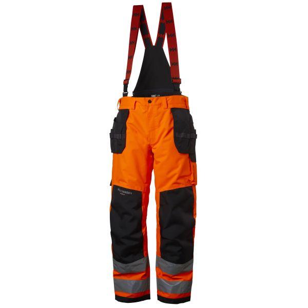 Helly Hansen Workwear Alna Työhousut huomioväri, oranssi/musta C50