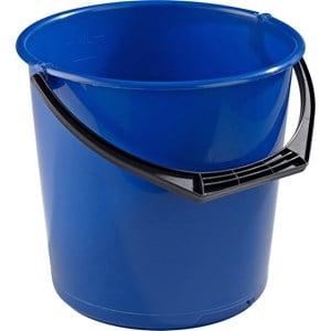 Hink plast blå, 10 l