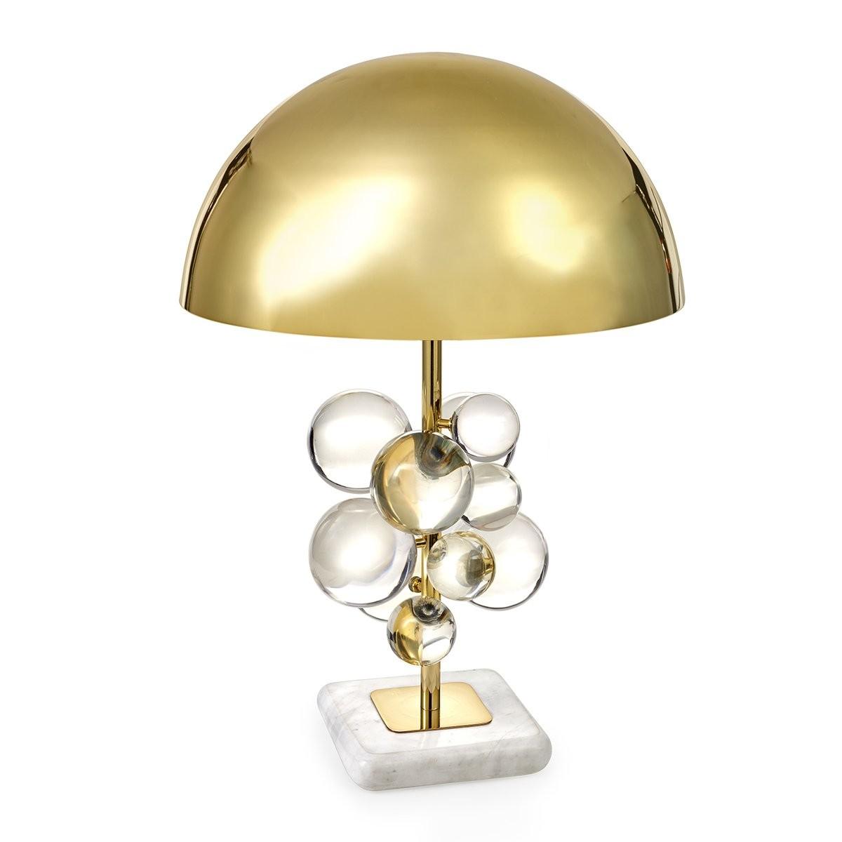 Jonathan Adler I Globo Table Lamp I Clear