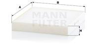 Raitisilmasuodatin MANN-FILTER CU 22 028