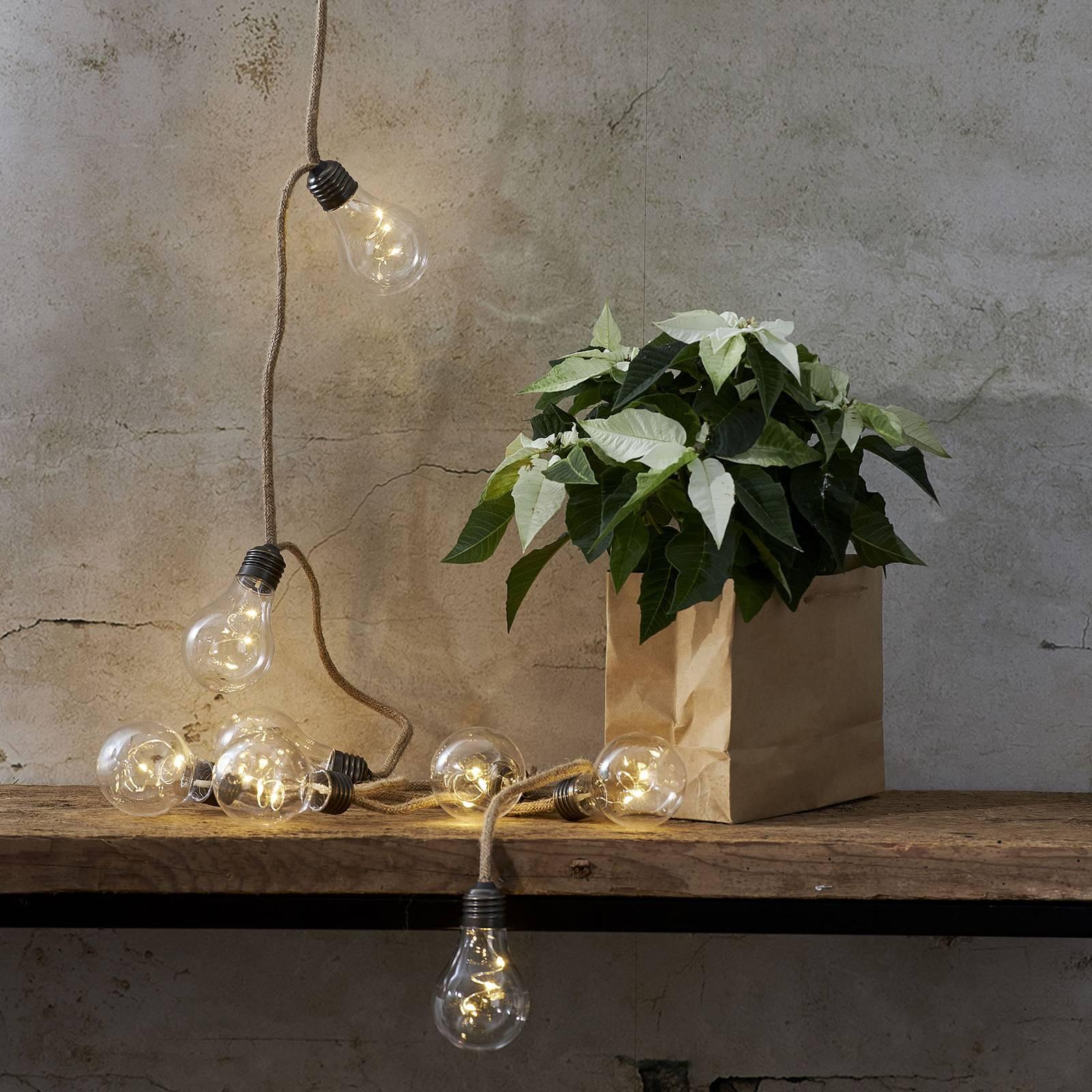 Jutta-valoketju, 10 lamppuinen