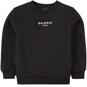 Balmain Logo Tröja Svart 6 år