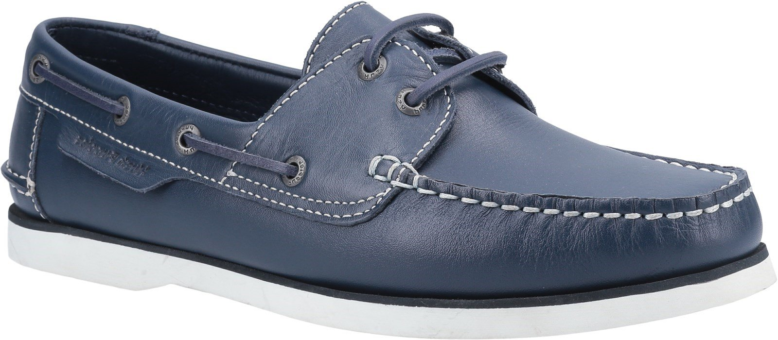 Hush Puppies Men's Henry Classic Lace Up Loafer Various Colours 28365 - Blue 6