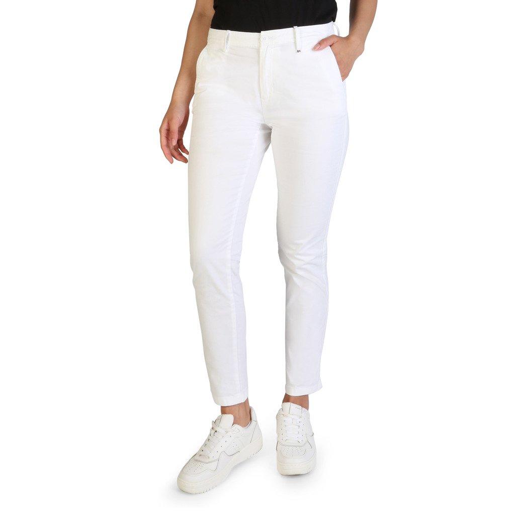 Tommy Hilfiger Women's Trouser White XF0XF00554 - white 27