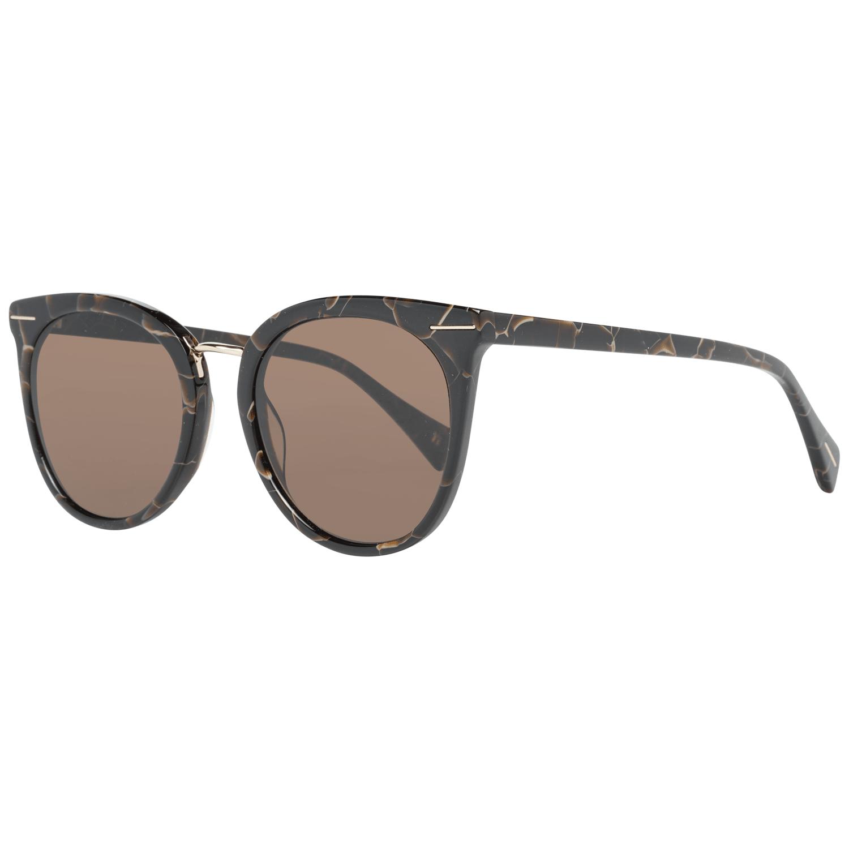 Yohji Yamamoto Women's Sunglasses Brown YS5006 51134