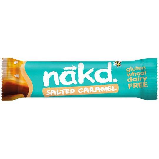 Raakapatukka Salted Caramel - 28% alennus