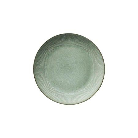 Relief Middagstallerken Grønn