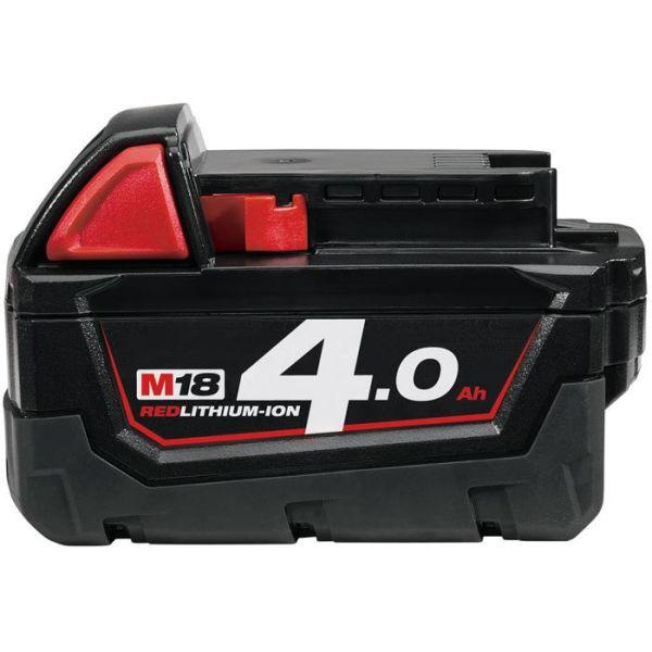 Milwaukee M18 B4 18V Li-Ion-batteri 4,0Ah