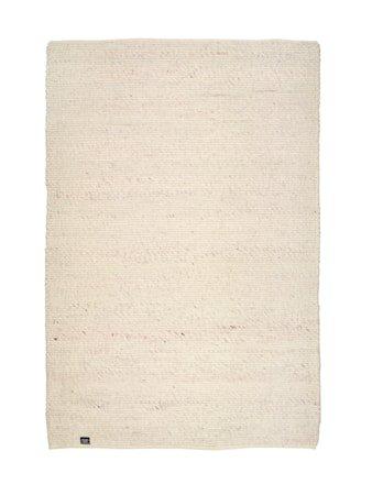 Merino teppe - Hvit, 170x230
