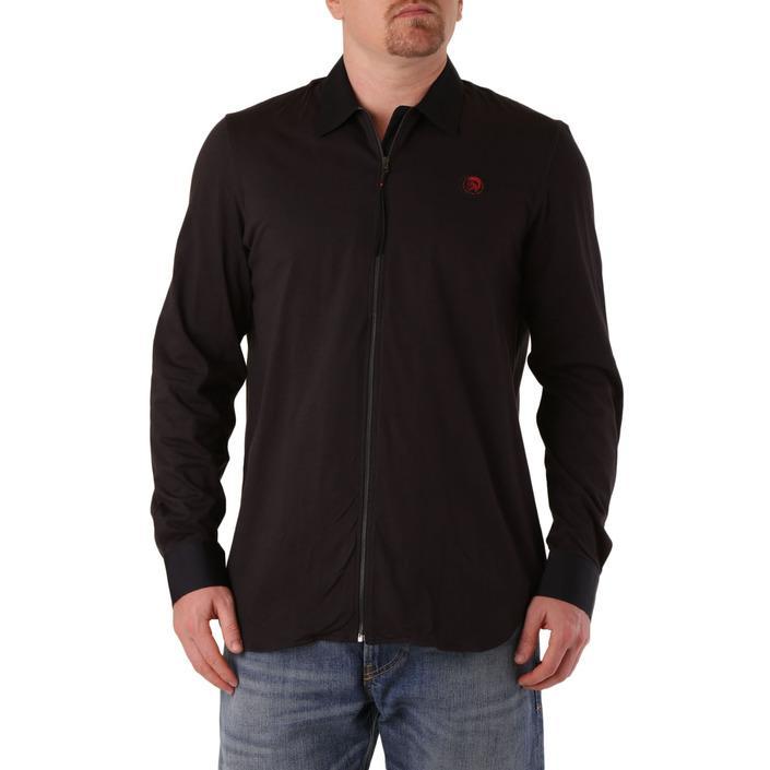 Diesel Men's Shirt Black 287461 - black 3XL