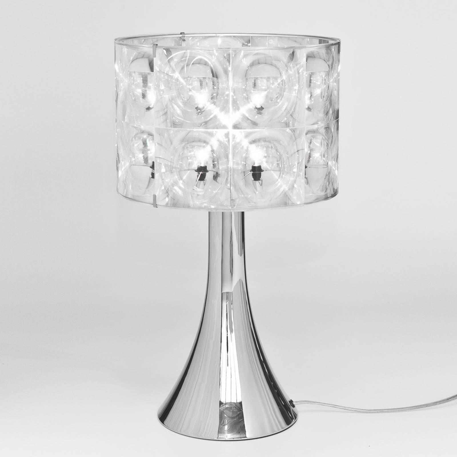 Innermost Lighthouse - designer-bordlampe, krom