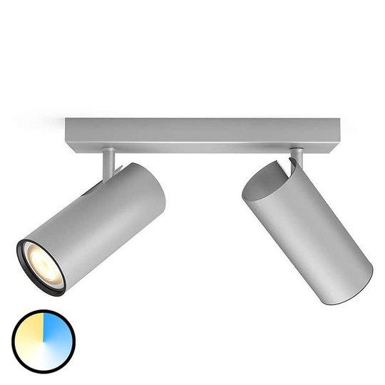 Philips Hue Buratto spot alu 2-lamppuinen