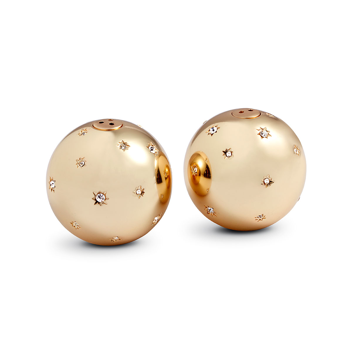 L'Objet I Stars Spice Jewels Gold White Crystals