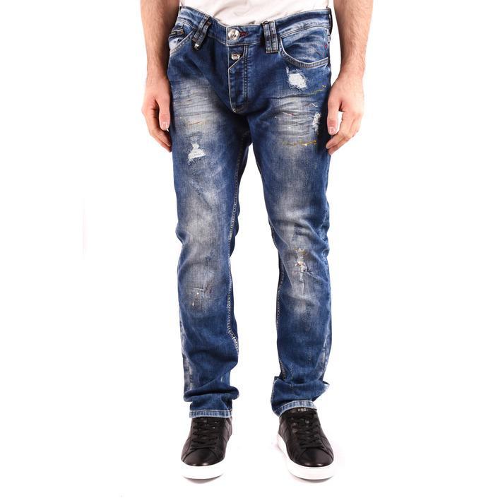Philipp Plein Men's Jeans Blue 185062 - blue 36