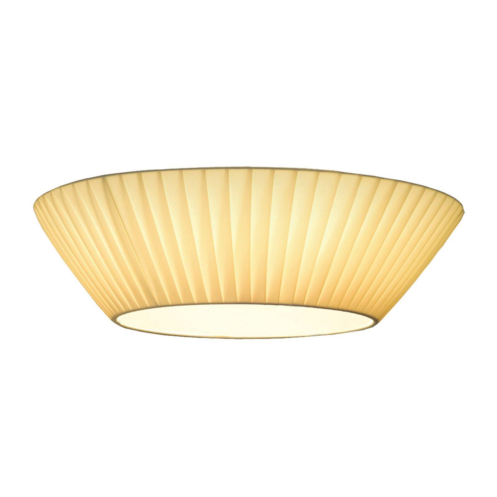 Enkel Emma taklampe i beige Ø 50 cm