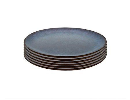 Raw Frokosttallerken Midnight Blue 6 stk. 23 cm