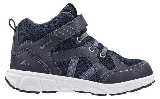 Viking Alvdal Mid R GTX Sneaker, Navy/Charcoal, 23