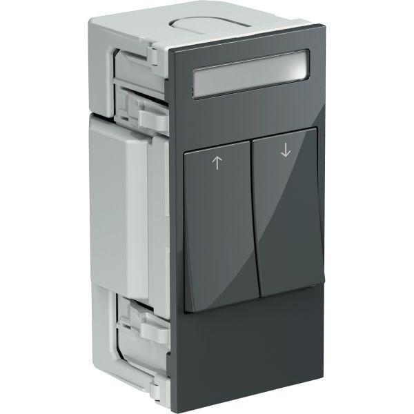 Schneider Electric INS66107 Kytkin 2 keinukytkintä Tummanharmaa