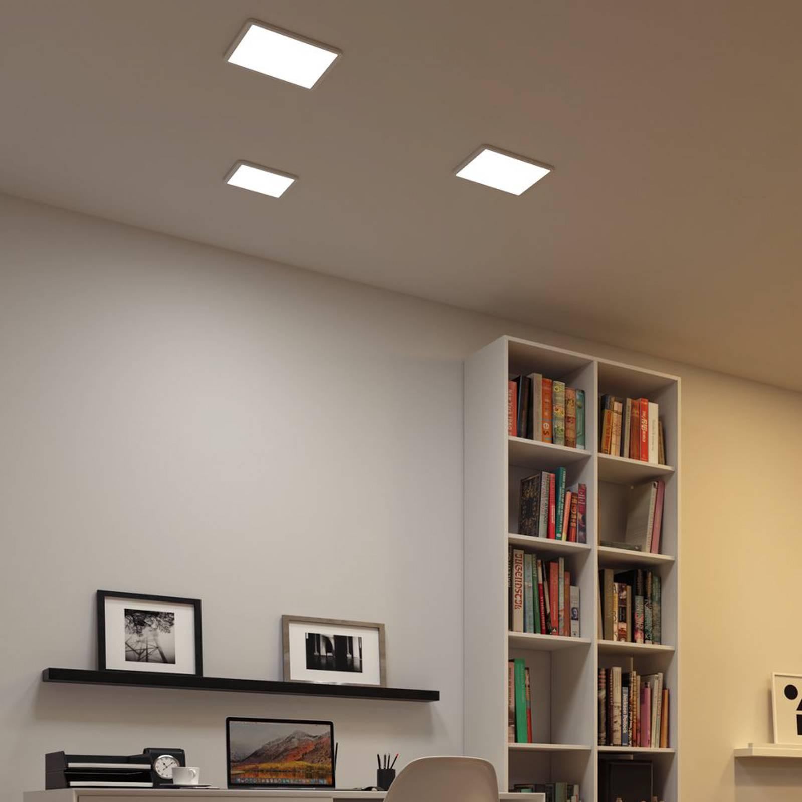 Paulmann-LED-paneeli Areo ZigBee kulmikas 23 cm