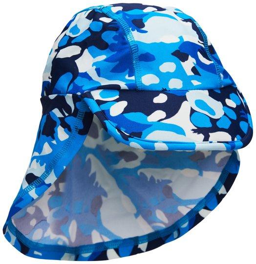 Luca & Lola Delfino UV-hatt, Blue Camo 50