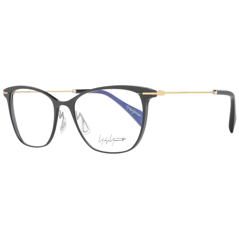 Yohji Yamamoto Women's Optical Frames Eyewear Black YY3030 53002