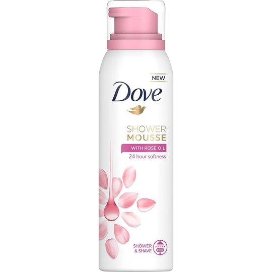 Shower Mousse Rose Oil, 200 ml Dove Suihku- ja kylpytuotteet