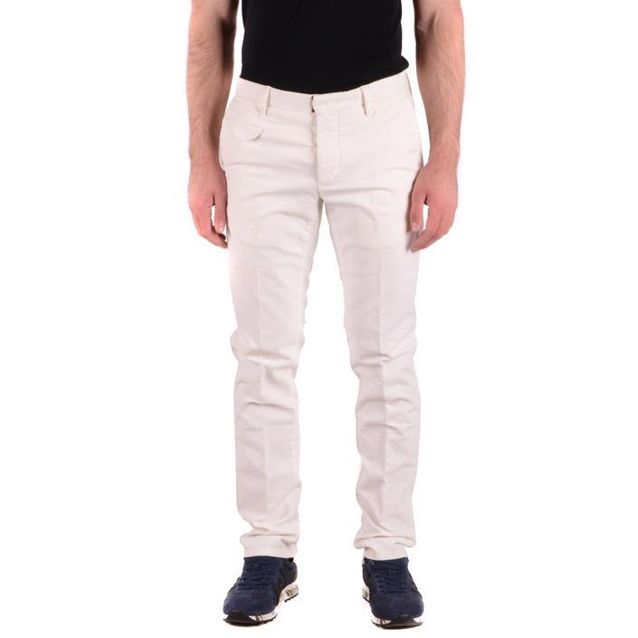 Incotex Men's Trouser White 165255 - white 33