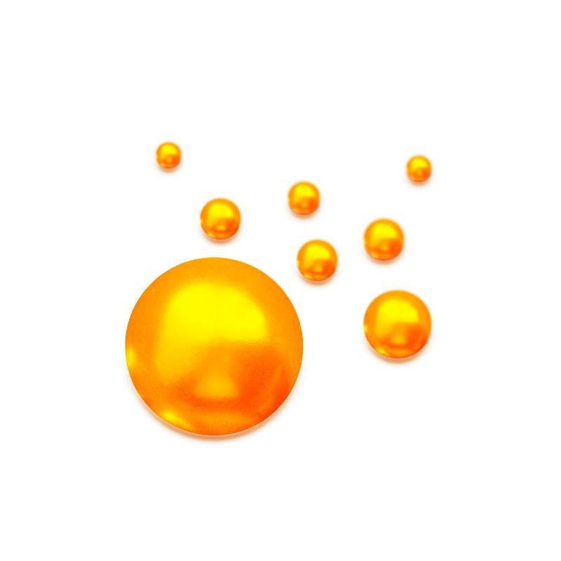 Articulated Beads - Pumpkin Seed 6mm