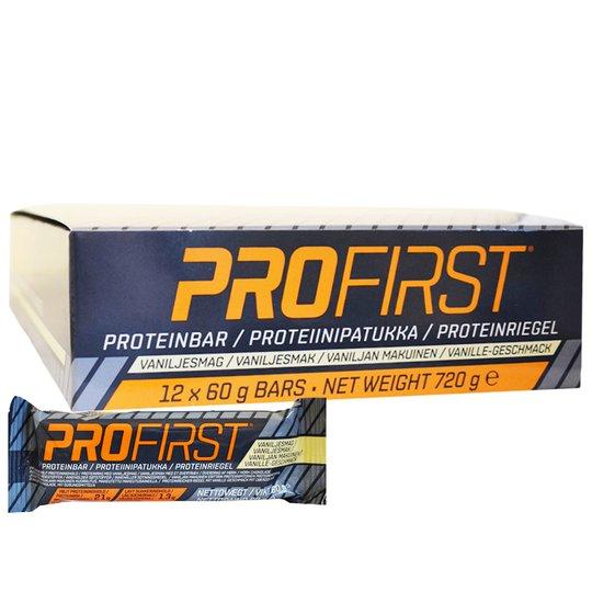 """Laatikollinen Proteiinipatukoita """"Vanilja"""" 12 x 60g - 67% alennus"""