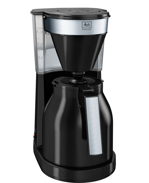 Melitta Easytop Therm 2.0 Black Kaffebryggare - Svart