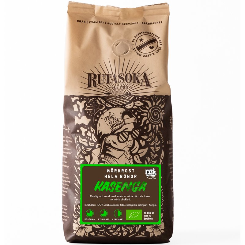 Kaffebönor Kasenga - 34% rabatt