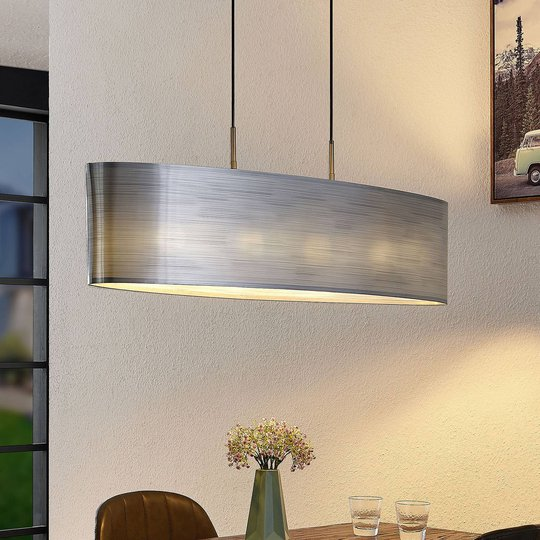 Lindby Dexin spisebord-hengelampe, 4 lyskilder