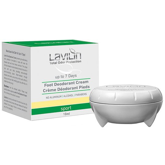 Foot Deodorant Cream, 10 ml Lavilin Jalkahoito