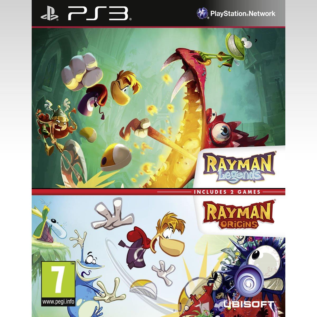 Rayman Legends + Rayman Origins (Bundle)