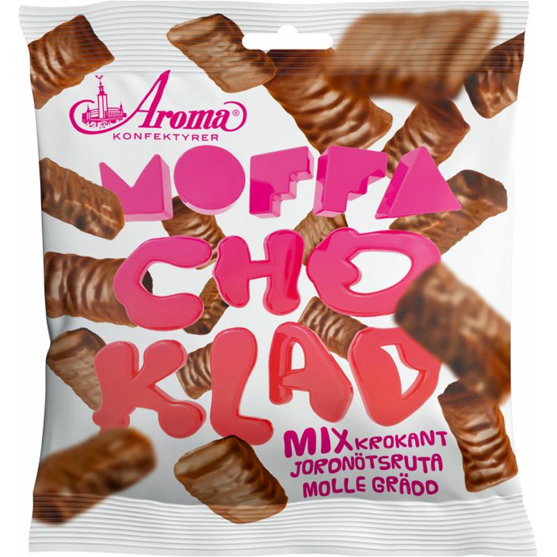 """Chokladgodis """"Moffa"""" 170g - 50% rabatt"""