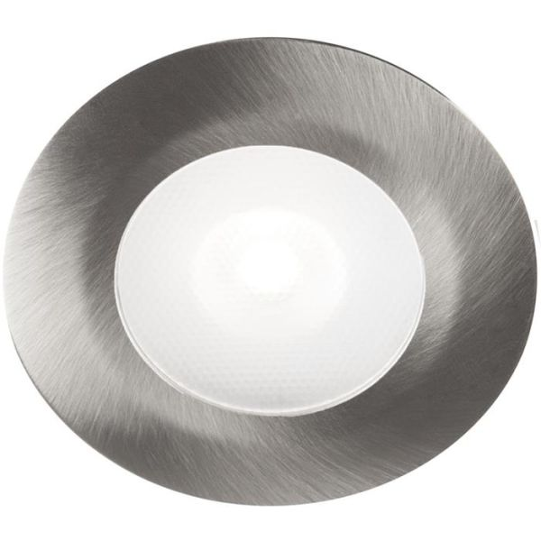 Hide-a-Lite Thin LED Downlight 2,5 W, 3000 K Børstet stål