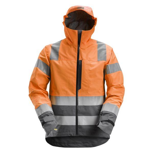 Snickers 1330 AllroundWork Skaljacka varsel, orange XS