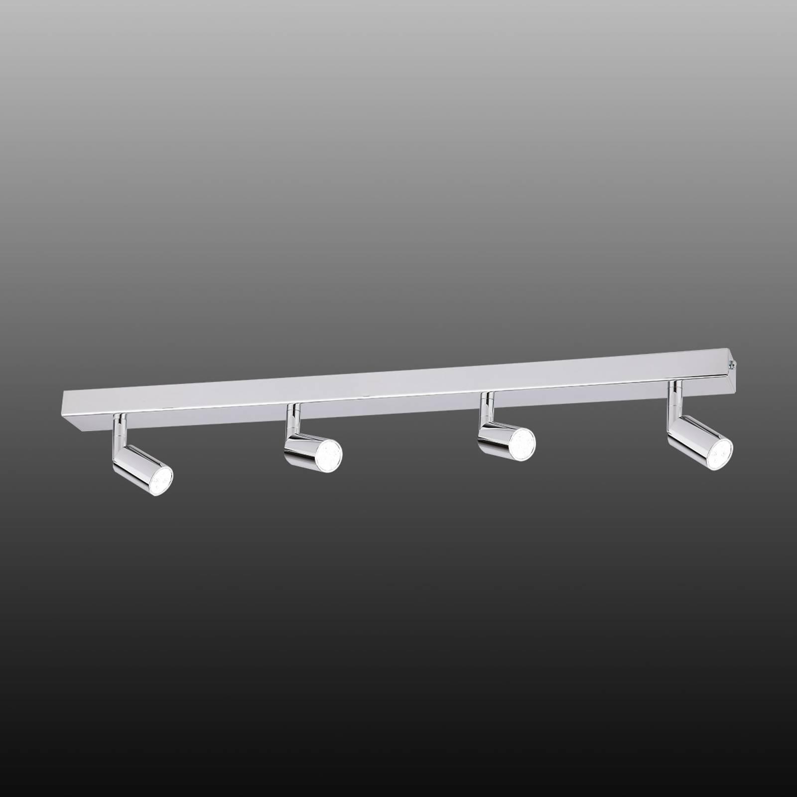 Moderni LED-kattovalaisin, 4-lamppuinen