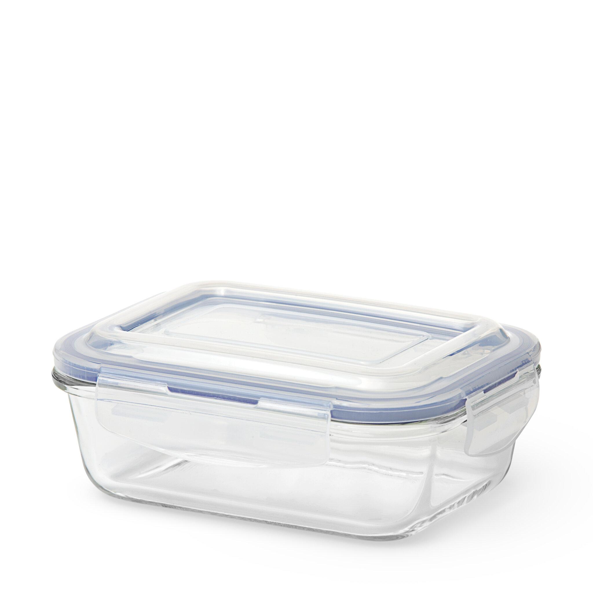 Matlåda, glas, 550ml