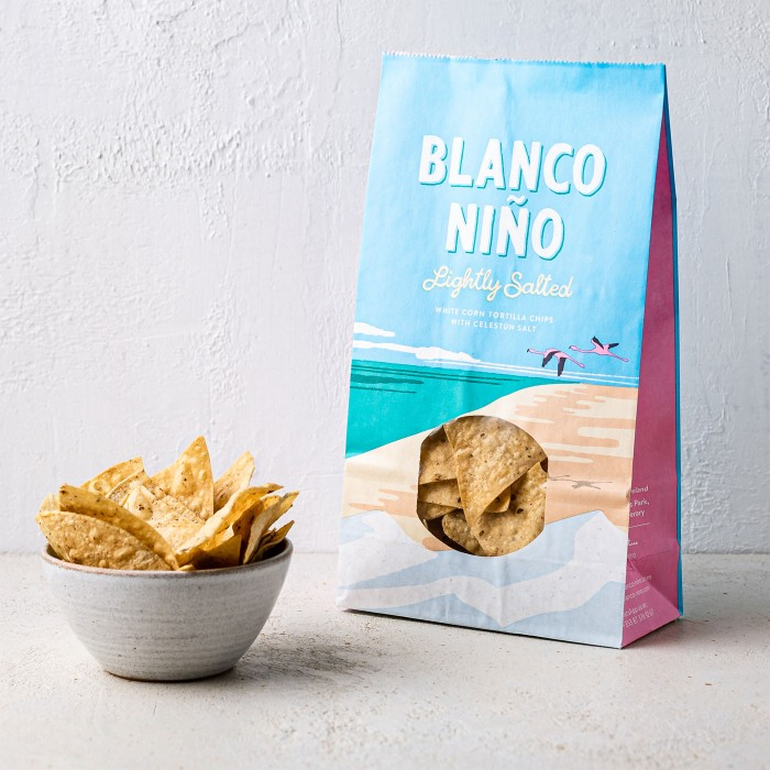 Blanco Nino Lightly Salted Tortilla chips 170g