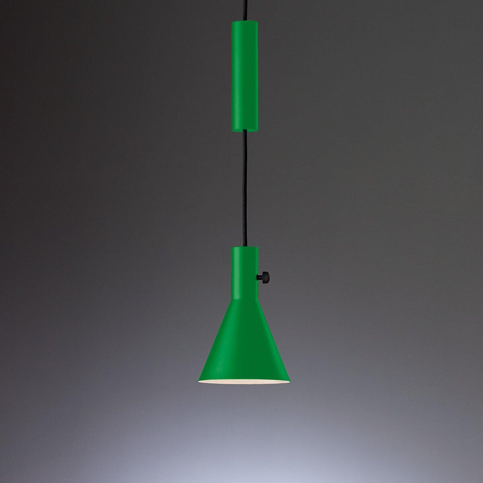 Eleu grønn LED designerpendellampe
